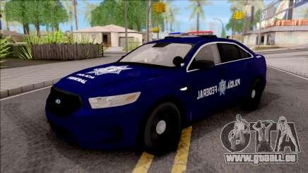 Ford Taurus 2013 Mexican Police für GTA San Andreas