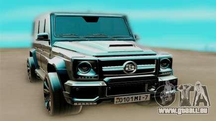 Mercedes-Benz G63 AMG für GTA San Andreas
