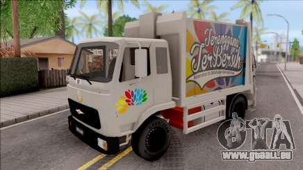 FAP MBKT Terengganu City Garbage Compactor Truck für GTA San Andreas