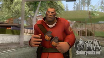 Team Fortress 2 - Soldier Skin v2 pour GTA San Andreas