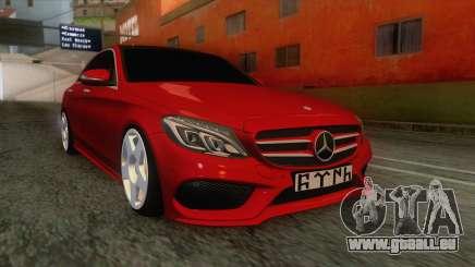 Mercedes-Benz C250 Stance für GTA San Andreas