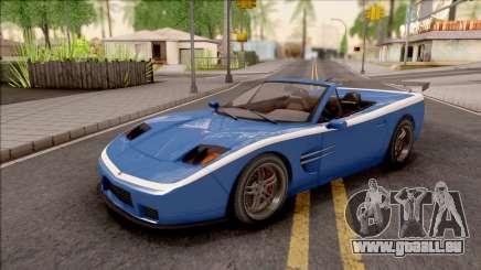 GTA IV Invetero Coquette Spyder für GTA San Andreas