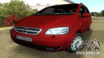 Opel Zafira 2.2DTI pour GTA Vice City