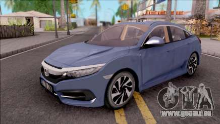 Honda Civic FC5 Low Poly with Led Lights pour GTA San Andreas
