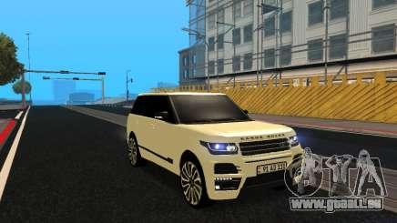 Range Rover Vogue Armenian für GTA San Andreas