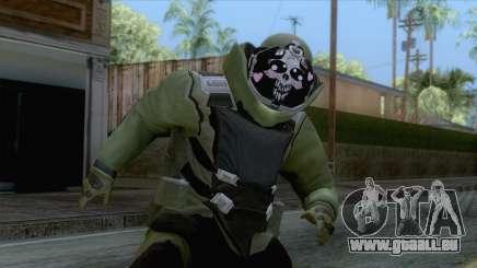 Pay day 2 - Sempai Dozer Green für GTA San Andreas
