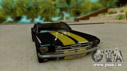 Ford Mustang GT MkI 1965 pour GTA San Andreas