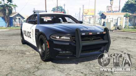 Dodge Charger RT 2015 Police v2.0 [replace] pour GTA 5