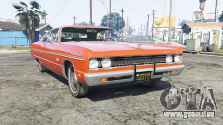 Plymouth Fury III 1969 [replace] pour GTA 5