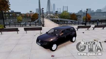 Renault Duster noir pour GTA 4