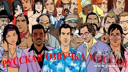 La voix de la russie pour GTA Vice City