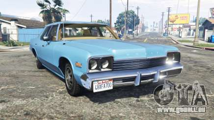 Dodge Monaco 1974 v2.0 [replace] für GTA 5