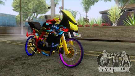 Kawasaki Ninja 250R Karbu Thailook pour GTA San Andreas