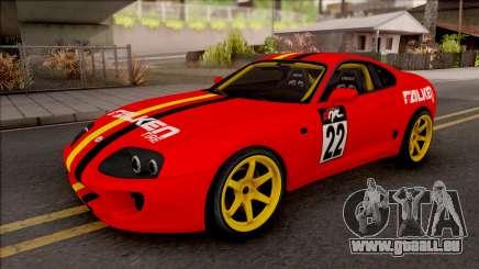 Toyota Supra Drift Falken Germany pour GTA San Andreas