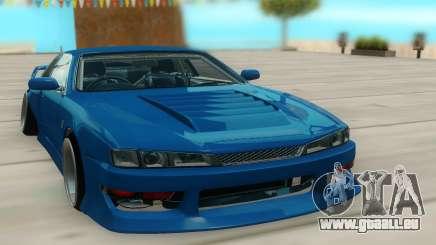 Nissan Silvia S14 синий pour GTA San Andreas