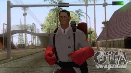 Team Fortress 2 - Medic Skin v2 für GTA San Andreas