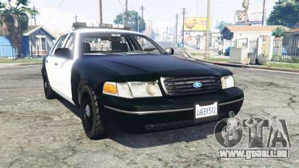 Ford Crown Victoria Police v1.3 [replace] für GTA 5