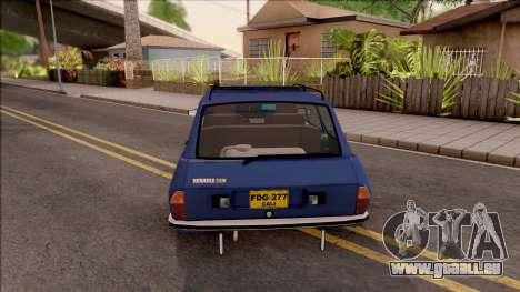 Renault 12 für GTA San Andreas