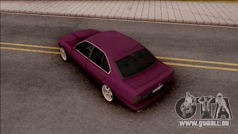 BMW E34 520i Sedan Stance Version pour GTA San Andreas