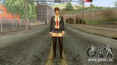 Misami Schoolgirl für GTA San Andreas