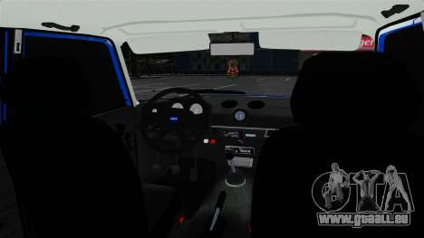 VAZ 2106 pour GTA 4 est une vue de l'intérieur