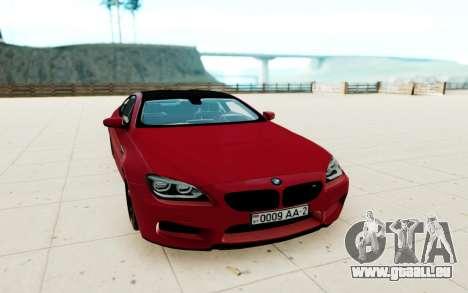 BMW M6 F13 pour GTA San Andreas