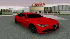 Alfa Romeo Giulia, Burgund für GTA San Andreas