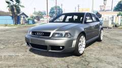 Audi RS 4 Avant (B5) 2001 v1.2 [add-on] pour GTA 5