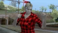 Jill Casual Skin pour GTA San Andreas