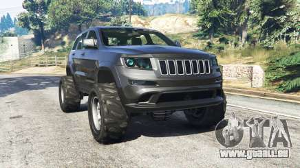 Jeep Grand Cherokee SRT8 2013 v0.5 [replace] pour GTA 5
