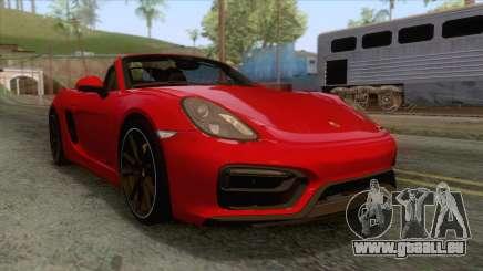 Porsche Boxster GTS 2016 pour GTA San Andreas