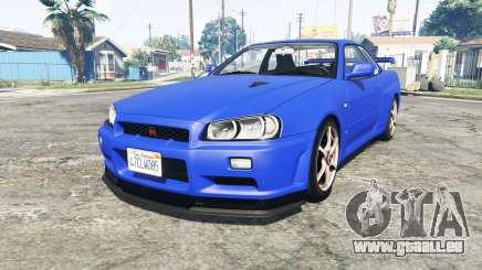 Nissan Skyline GT-R (BNR34) [add-on] für GTA 5