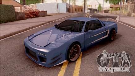 BlueRay Infernus Deoxys pour GTA San Andreas