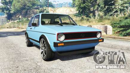 Volkswagen Golf GTI Mk1 [replace] für GTA 5