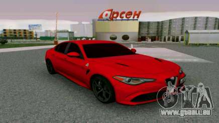 Alfa Romeo Giulia Bourgogne pour GTA San Andreas