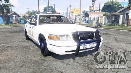 Ford Crown Victoria 1999 Sheriff v1.2 [replace] für GTA 5