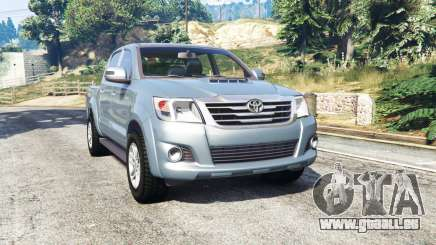 Toyota Hilux Double Cab 2012 [replace] pour GTA 5