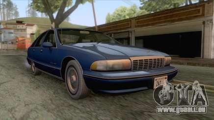 Chevrolet Caprice Classic 1992 pour GTA San Andreas