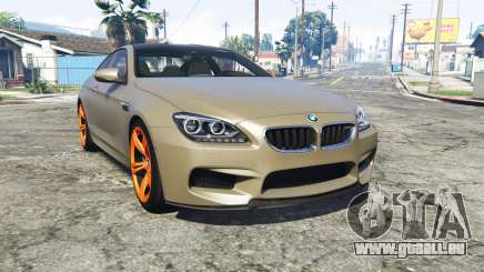 BMW M6 Coupe (F13) [replace] pour GTA 5