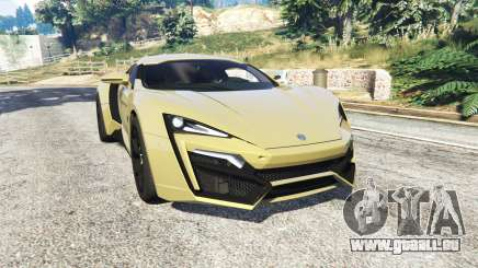 W Motors Lykan HyperSport 2014 v1.3 [add-on] für GTA 5