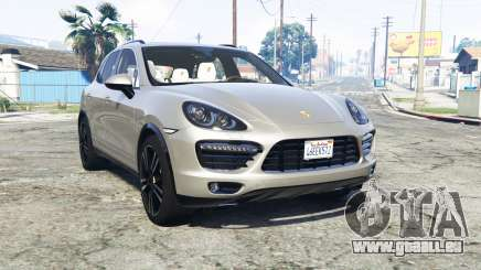 Porsche Cayenne Turbo (958) 2013 v1.1 [add-on] pour GTA 5