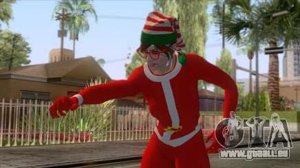 GTA Online - Sexy Christmas Skin pour GTA San Andreas