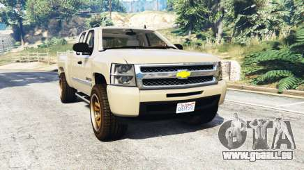 Chevrolet Silverado 1500 LT v0.5 [replace] für GTA 5
