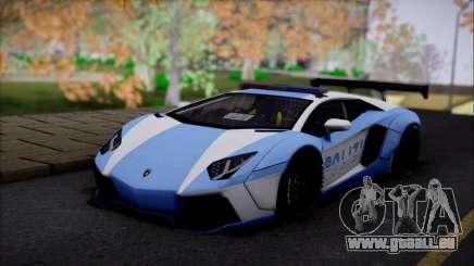 Lamborghini Aventador v2 für GTA San Andreas