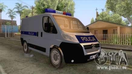 Citroen Jumper Polskiej Policji pour GTA San Andreas