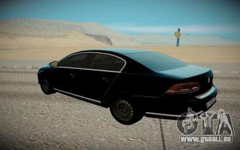 Volkswagen Polo pour GTA San Andreas sur la vue arrière gauche