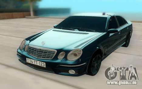 Mercedes-Benz W211 AMG 63 pour GTA San Andreas