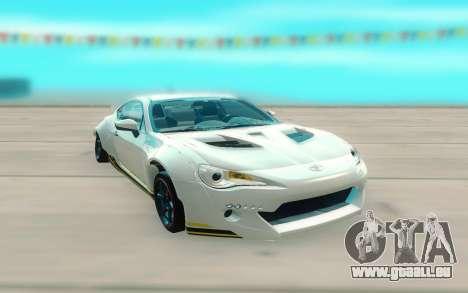 Toyota GT86 RB Ft Rotiform Permaisuri pour GTA San Andreas