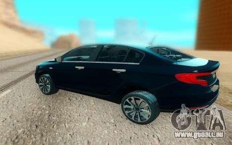 2018 Dodge Neon pour GTA San Andreas sur la vue arrière gauche