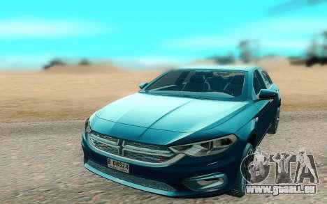 2018 Dodge Neon pour GTA San Andreas vue de droite